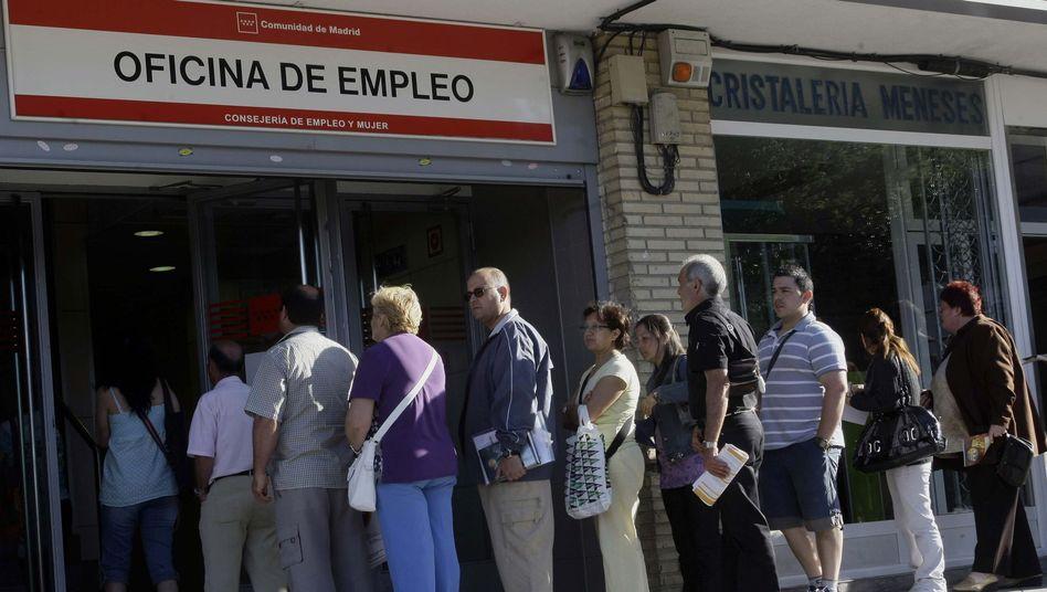 """Arbeitsamt in Madrid: """"17.000 Spanier an Arbeit in Deutschland interessiert"""""""