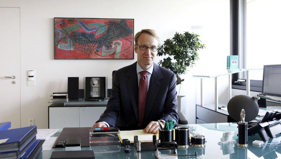 Bundesbank-Präsident Weidmann: Bisher das monetäre Gewissen der westlichen Welt