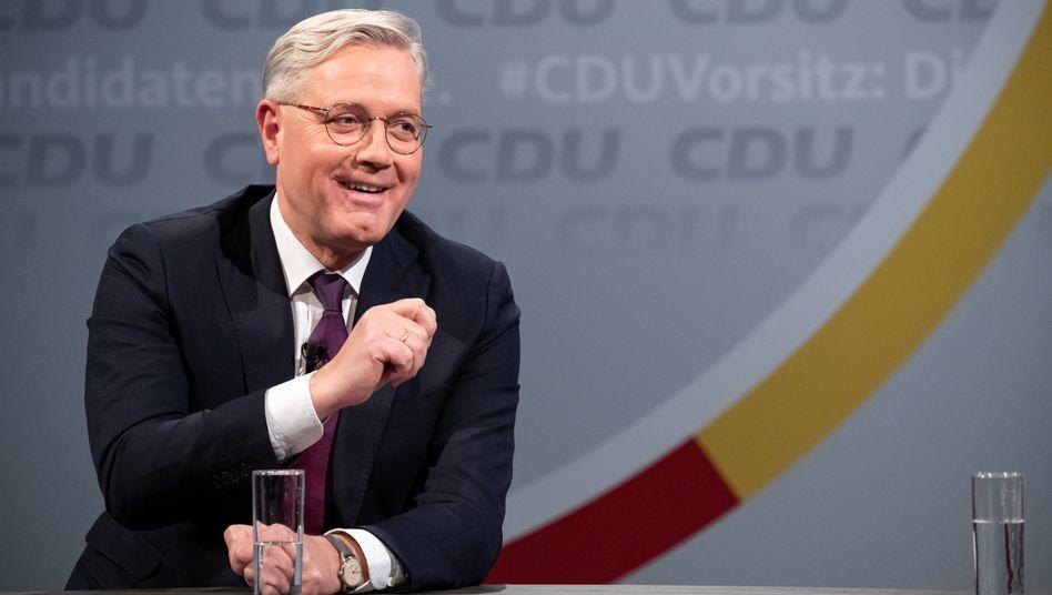 Norbert Röttgen: »Wenn ich Vorsitzender werde, wird Jens Spahn weiter eine zentrale Figur in der Partei und in der Regierung sein«