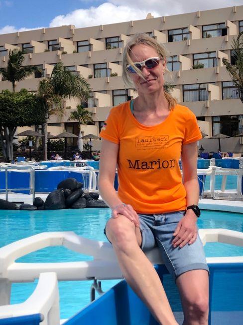 Marion Krispin auf Lanzarote