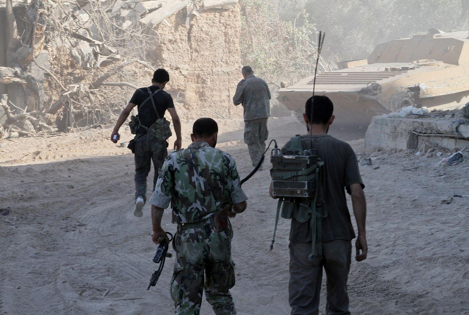 Syrien/ Syrische Armee/ Soldaten