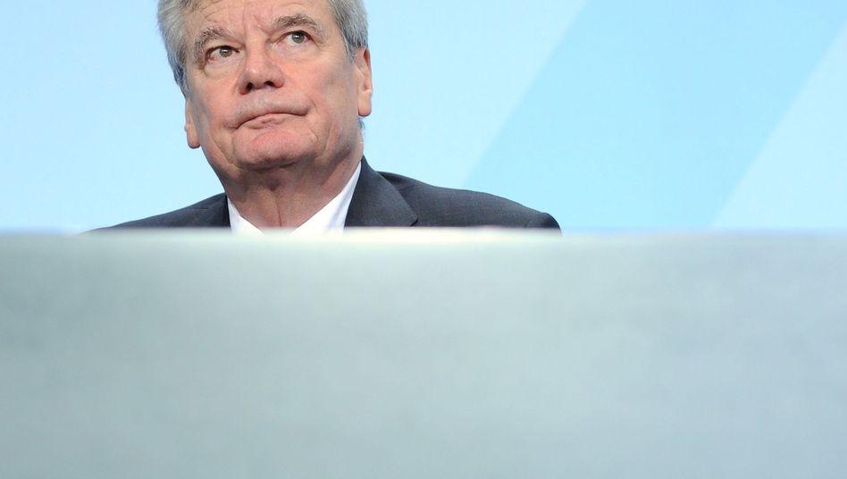 Joachim Gauck: Der Bundespräsident hat eher die Funktion eines intellektuellen Hofnarren