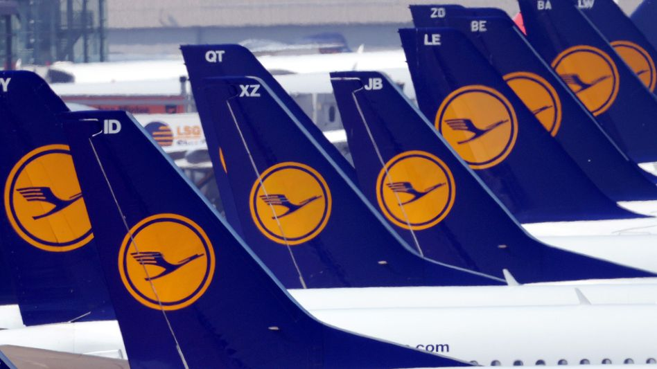 Flugzeuge der Lufthansa: 1000 Verbindungen gestrichen