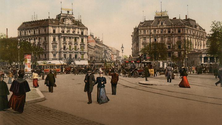Deutschland, damals: Das Kaiserreich um 1900 in Farbe. Und bunt!
