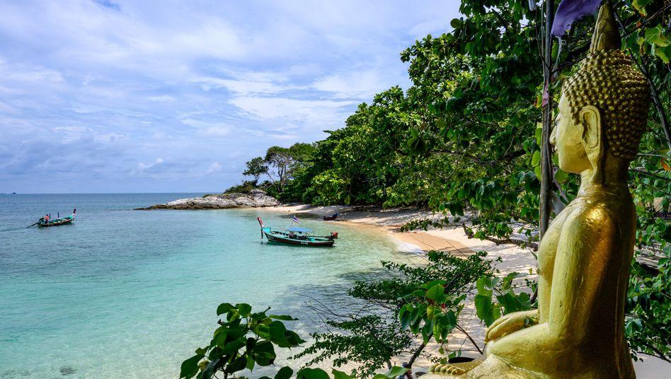 Strand in Thailand: Der Hotelbesitzer beruft sich auf Anti-Verleumdungsgesetze