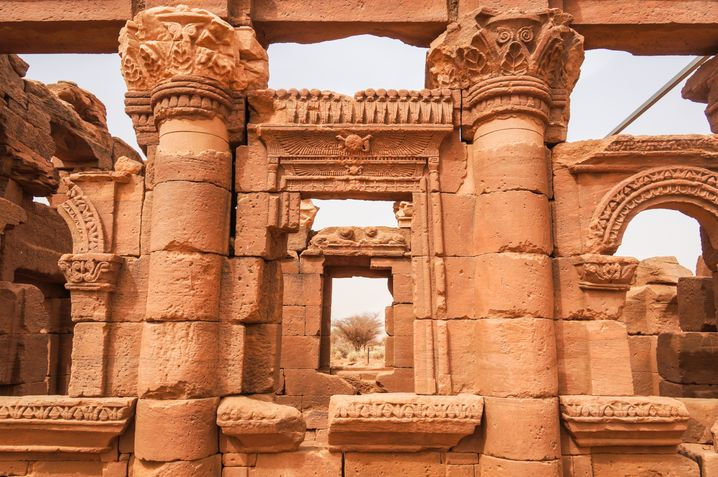 Die Tempel von Naga: 250 vor Christus erbaut.