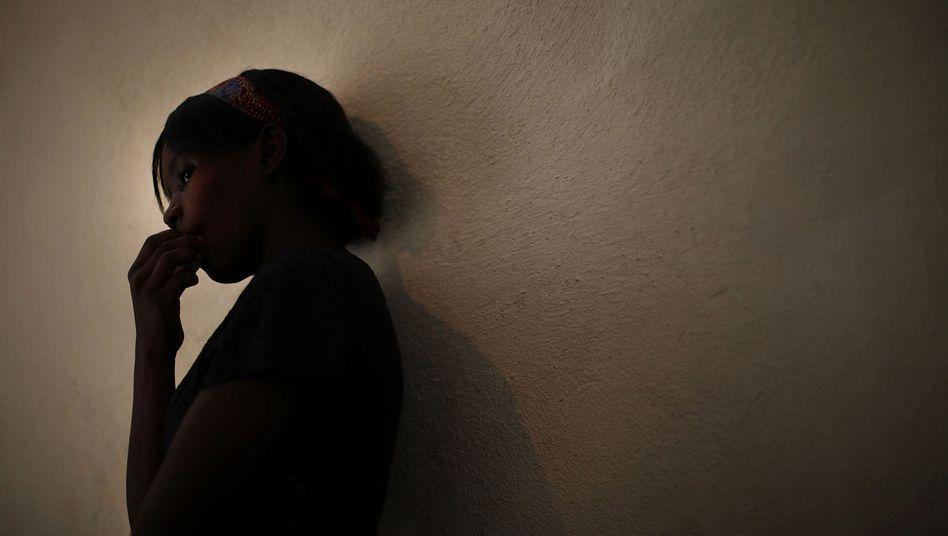 Missbrauchtes Kind (Archivbild aus Haiti): Jeden Tag 40 Opfer in Deutschland