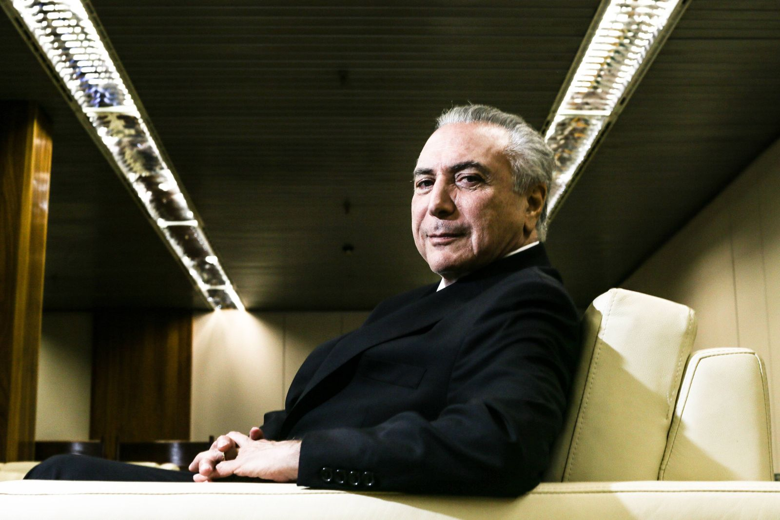 EINMALIGE VERWENDUNG Brasilien / Michel Temer