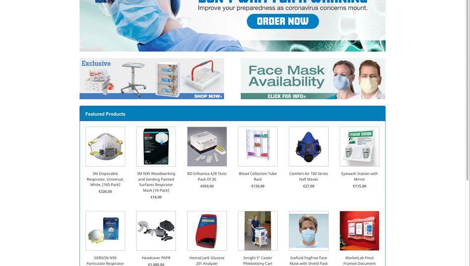 Vorsicht Fake-Shop: Manche Kriminelle wittern angesichts des Coronavirus große Geschäfte