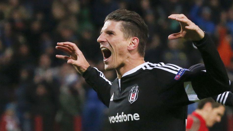 Besiktas-Stürmer Gomez: Acht Tore in zehn Ligaspielen