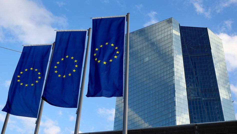 Hier wird gegen die niedrige Inflation gekämpft: Europäische Zentralbank