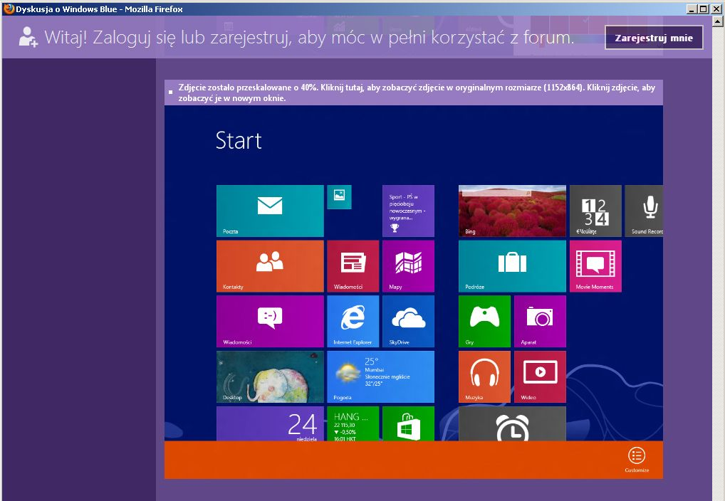 NUR ALS ZITAT Windows Blue Screenshots