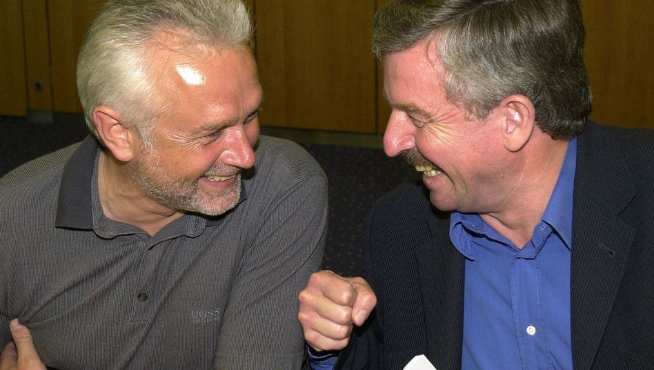FDP-Freunde Kubicki, Möllemann im Jahr 2000: Abschiedsbrief aufgetaucht