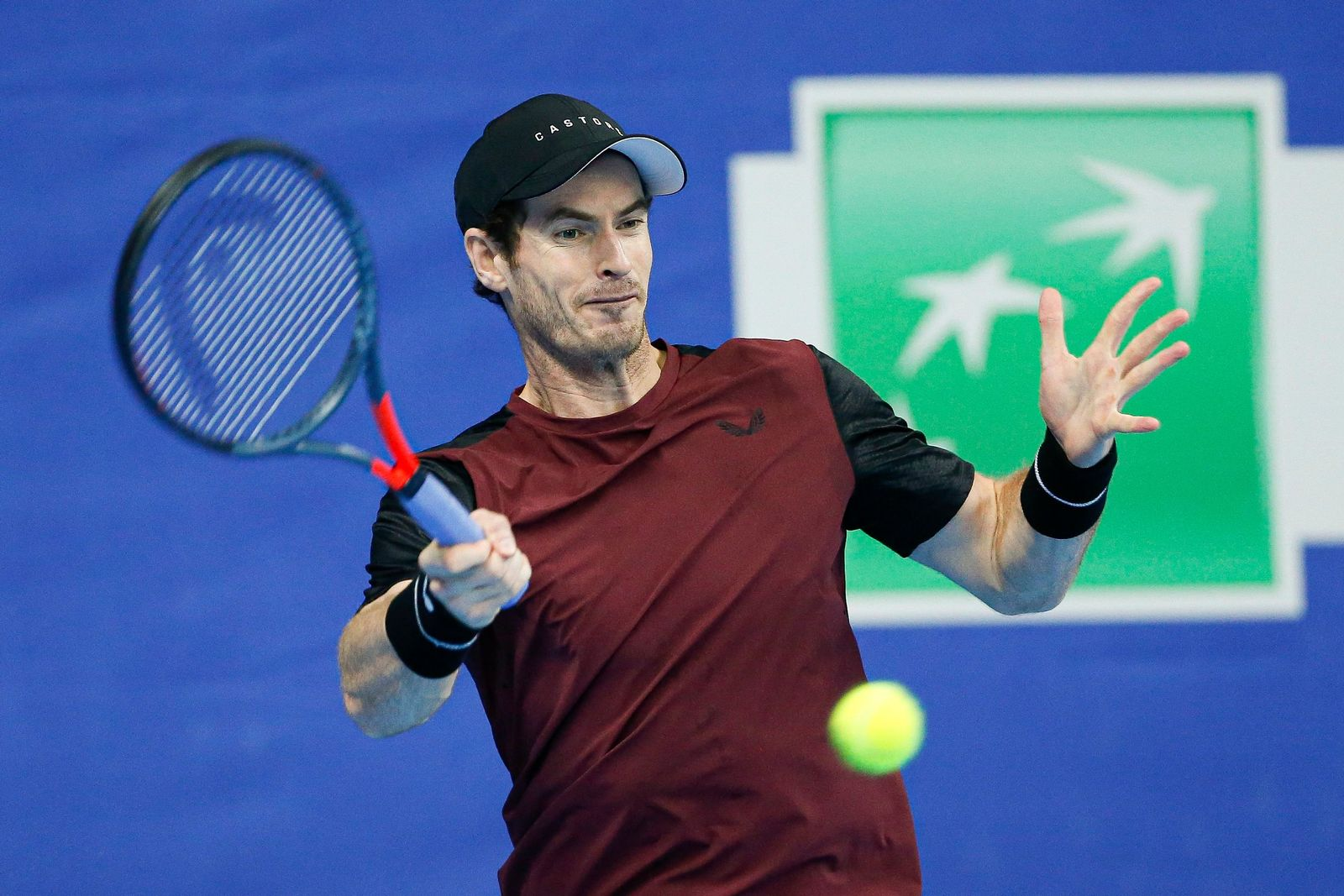 Andy Murray Tennis Antwerpen