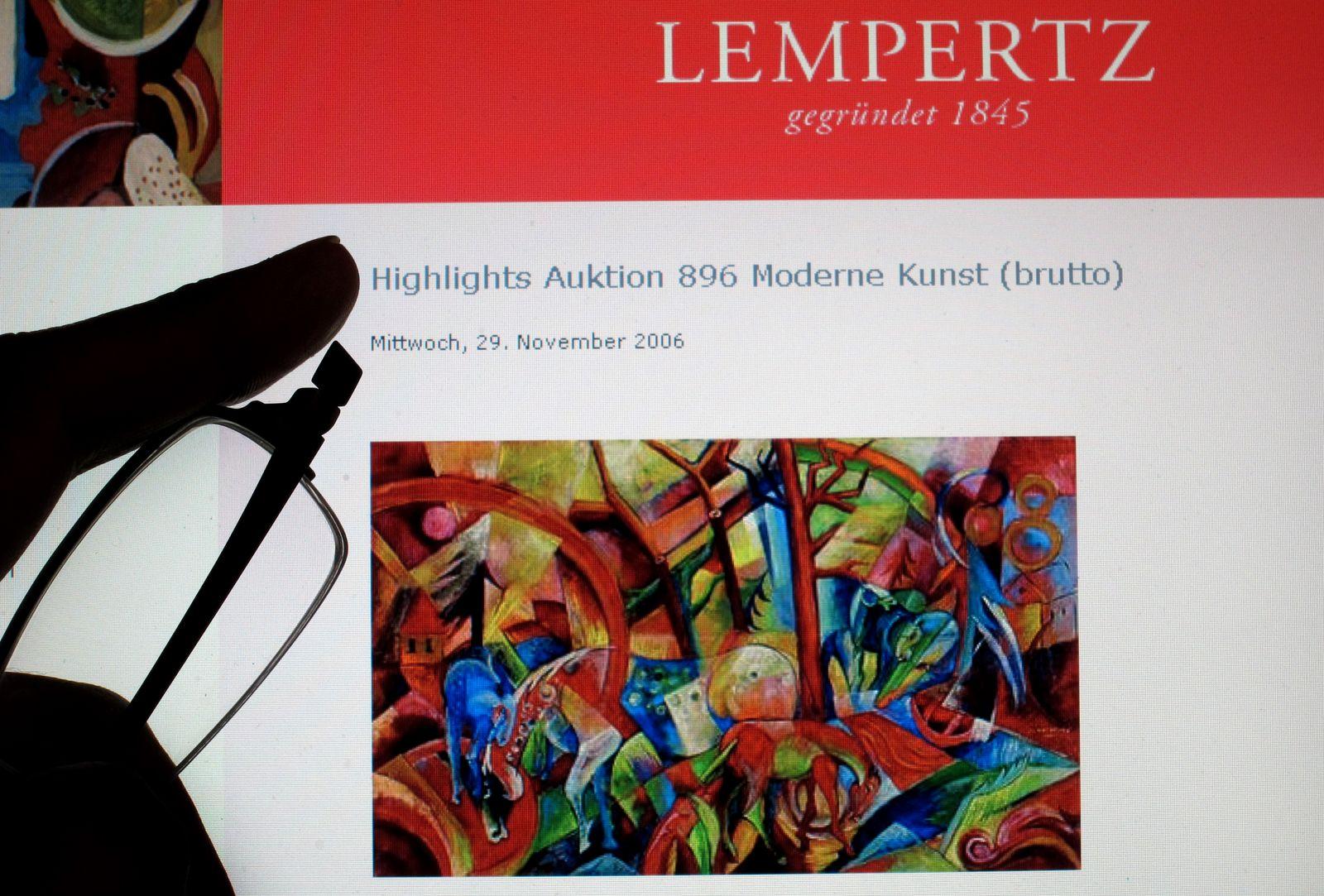 Lempertz/ Jäger/ Campendonk/ Kunstfälschung