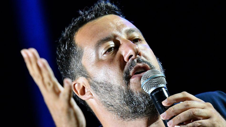Matteo Salvini: Mal Prolo, mal Landesvater und seit Wochen auf Wahlkampf-Tournee