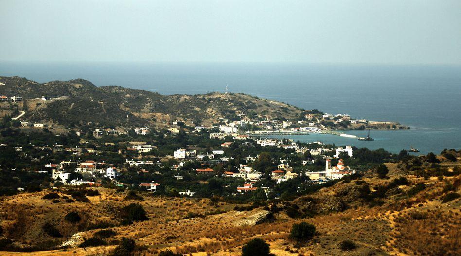 Aufnahme des Ortes Kato Pyrgos im Nordwesten Zyperns (Archivbild)