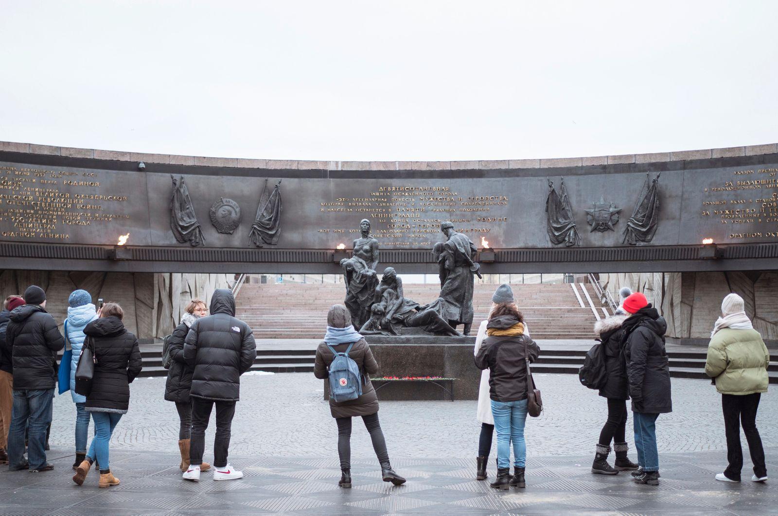 Erinnerungsprojekt an die Leningrader Blockade