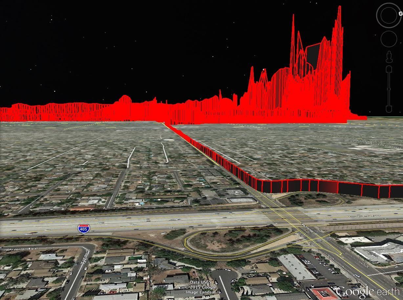 Methane Plume Spreads Across LA's San Fernando Valley   DER SPIEGEL