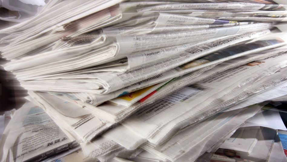 Zeitungen: Das Print-Geschäft in den USA schwindet, Online-News sind unter Druck