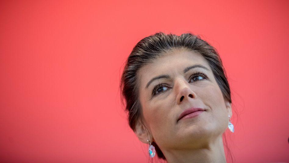 NRW-Spitzenkandidatin Sahra Wagenknecht