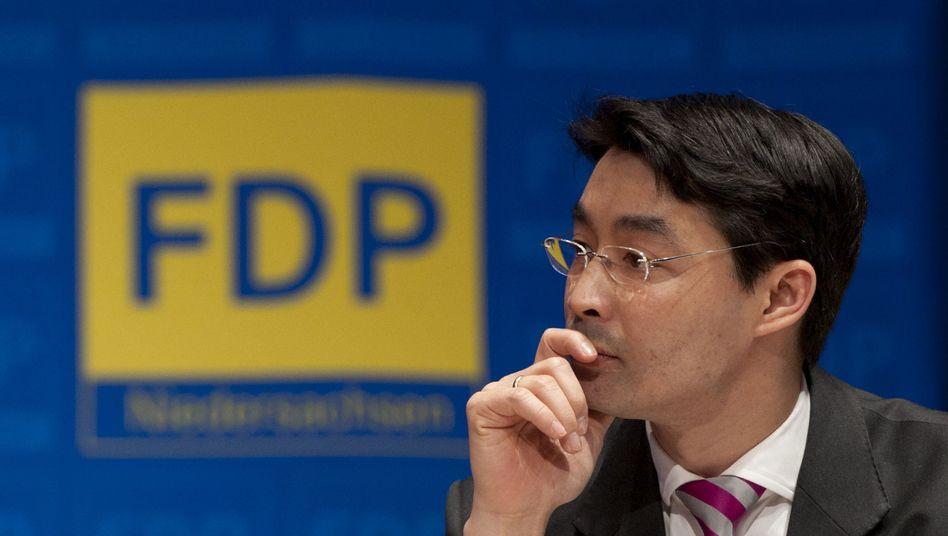 Designierter Parteichef Rösler: Turbulente Tage