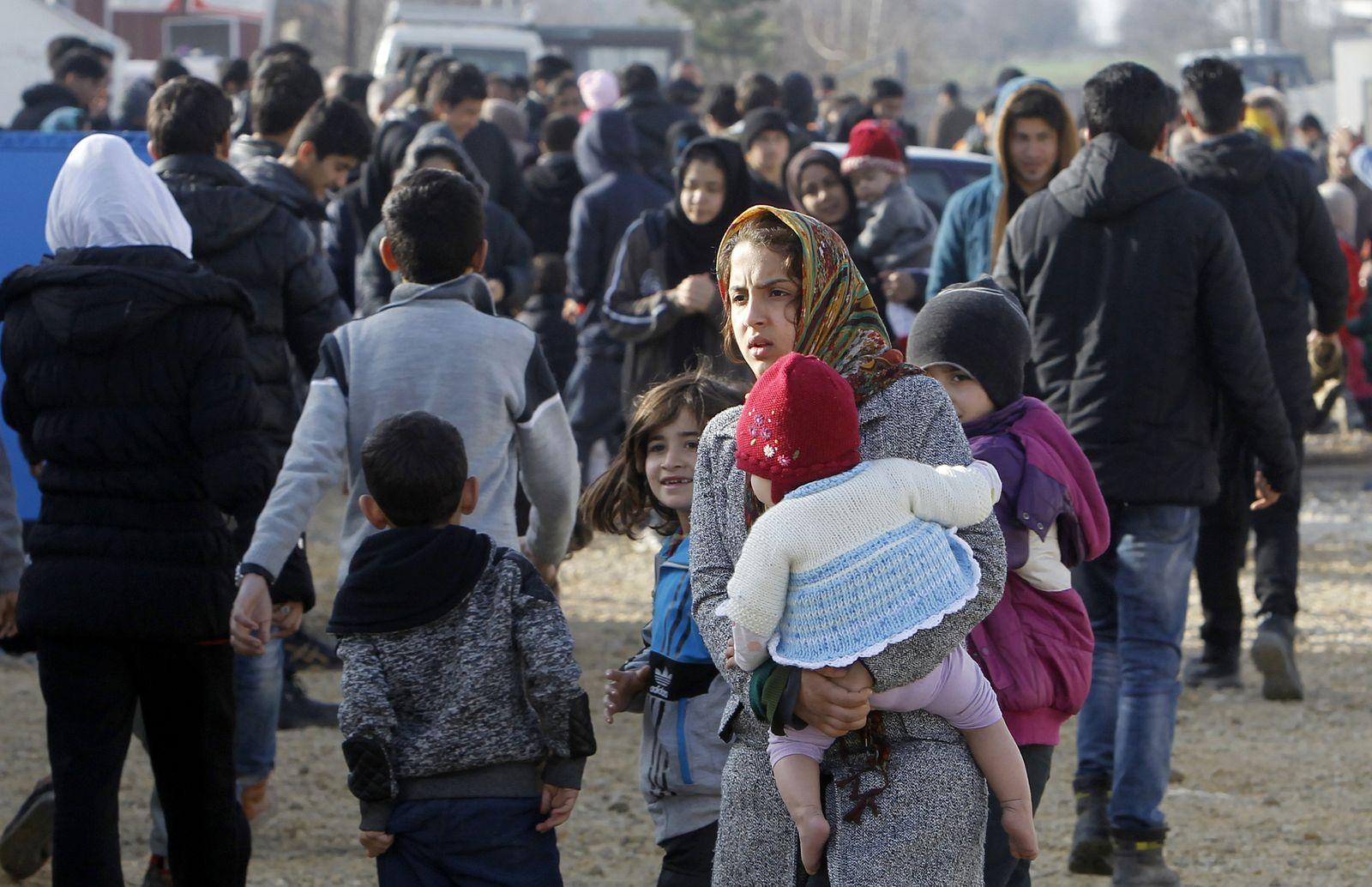 Flüchtlinge/ Balkan