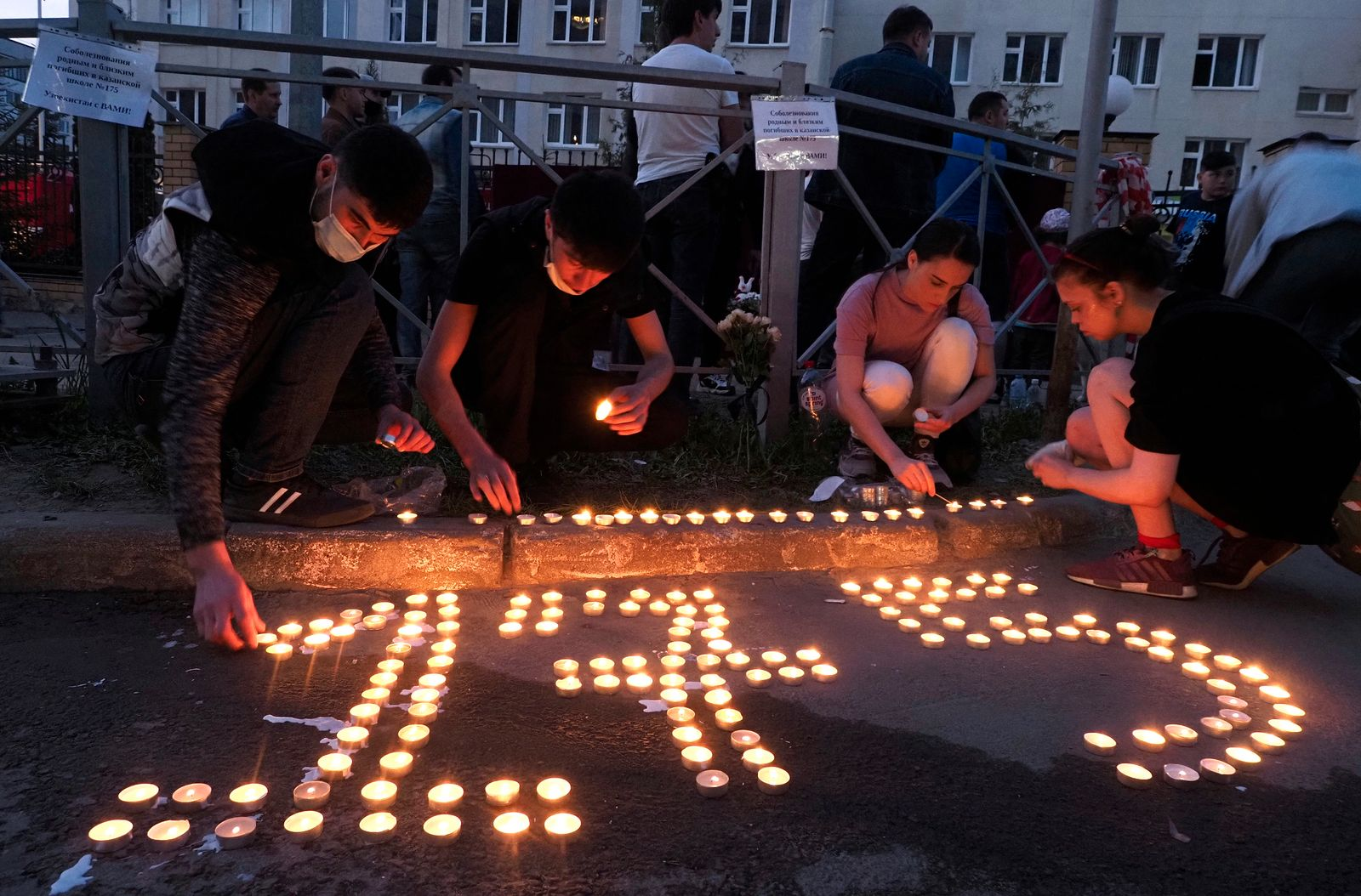 Angriff auf russische Schule