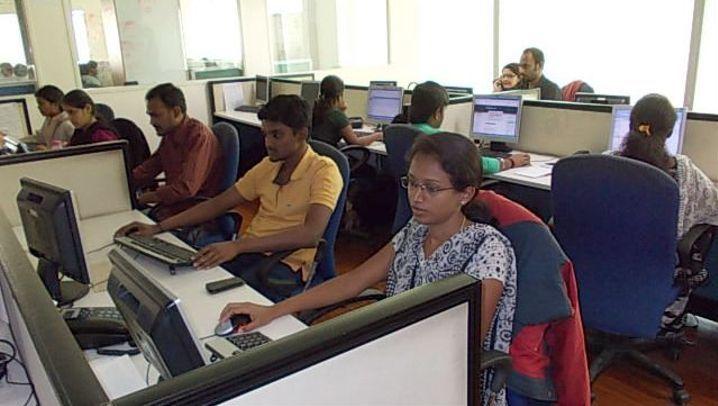 Indische Callcenter: Butler, Designer und Lehrer erzählen von ihrer Arbeit