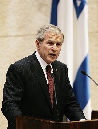 Bush in der Knesset: Obama sei gar nicht direkt gemeint gewesen, sagt die Sprecherin des Weißen Hauses