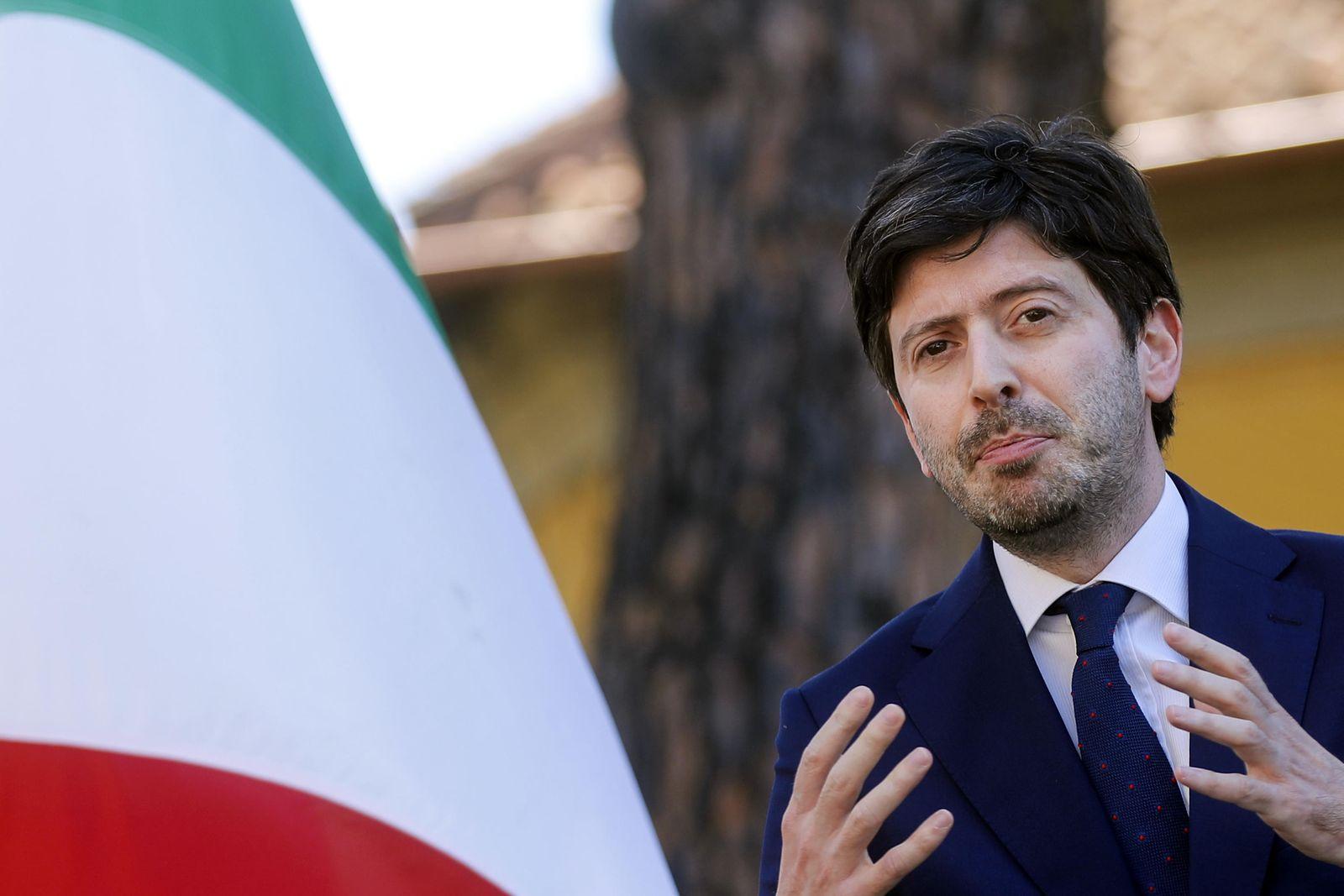 US Ambassador to Italy Lewis Eisenberg visits Rome - 22 Jun 2020