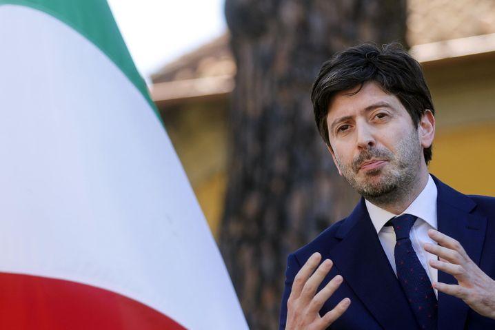 Italiens Gesundheitsminister Roberto Speranza