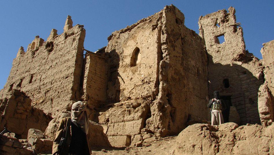 Jemenitische Rebellen im zerstörten Saada: Undurchsichtige Verhältnisse