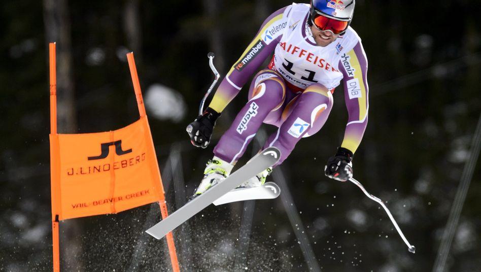Skirennläufer Svindal (bei der WM in Beaver Creek): Frühzeitiges Saison-Aus