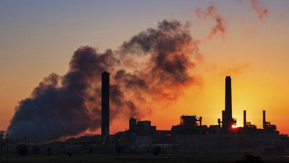 Kohlekraftwerk im US-Bundesstaat Wyoming (Archivbild)