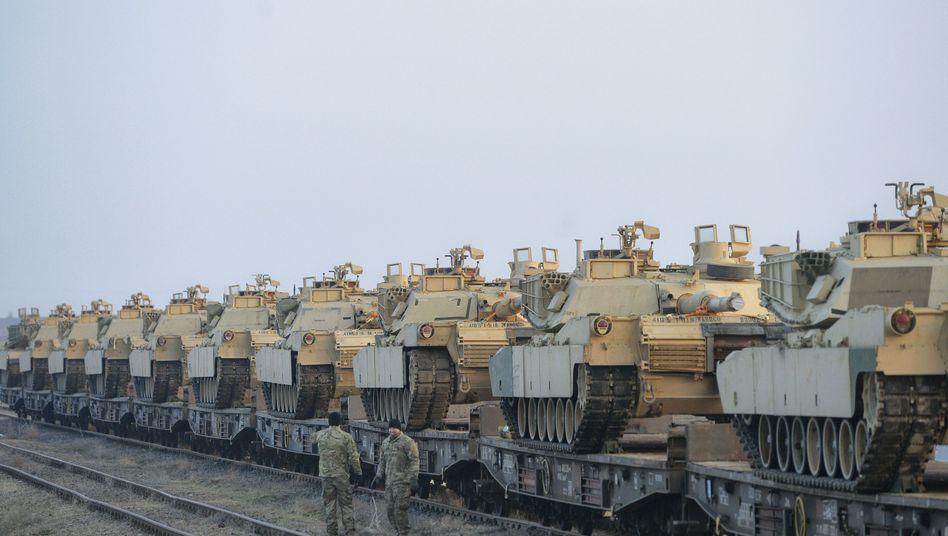 Panzer in Rumänien