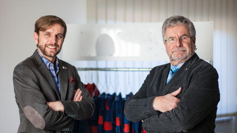 """Firmenchefs Ivo, Peter Haase """"Wir sind gern die Klugscheißer"""""""
