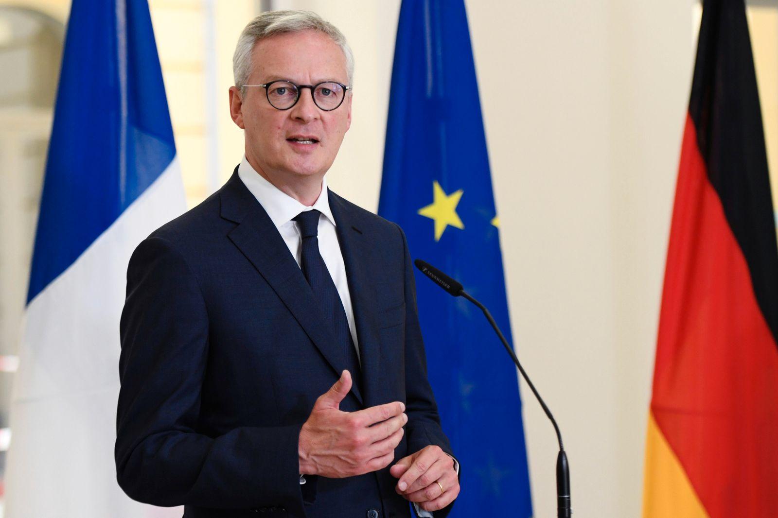 Bundeswirtschaftsminister trifft französischen Finanzminister