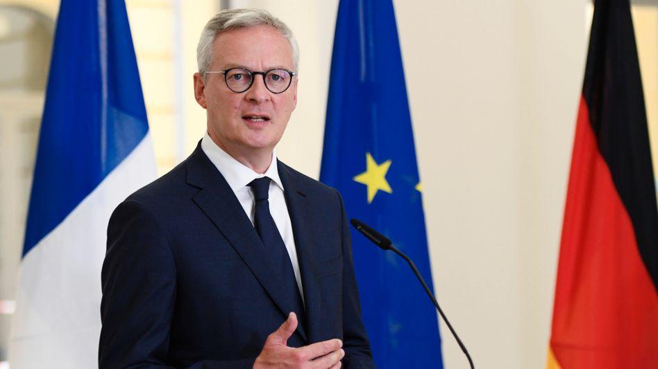 Frankreichs Finanzminister Le Maire: »Wir dürfen das Wachstum nicht abwürgen«