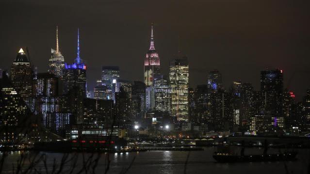New Yorker Skyline mit Empire State Building