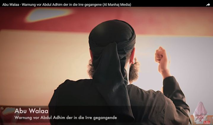 """Salafistengröße Abu Walaa: """"Hier was machen"""""""