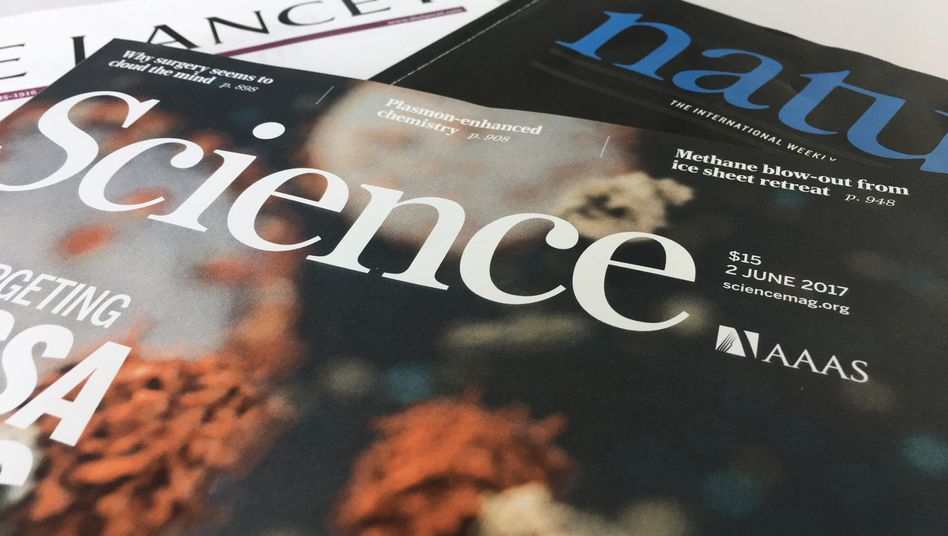 """Fachmagazine """"Lancet"""", """"Science"""", """"Nature"""""""
