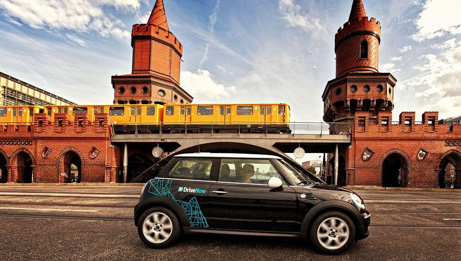"""Carsharing von DriveNow: """"Kein Beitrag zur Entlastung des Verkehrs"""""""