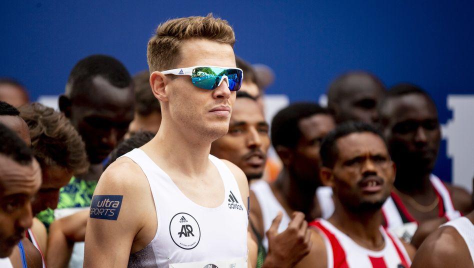 Startschuss beim Berlin-Marathon: Pflieger beim Wettkampf 2019