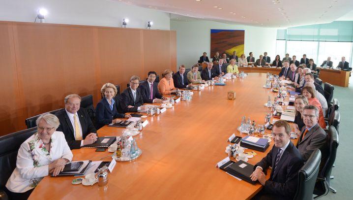 Merkel's cabinet: Little by way of shining stars