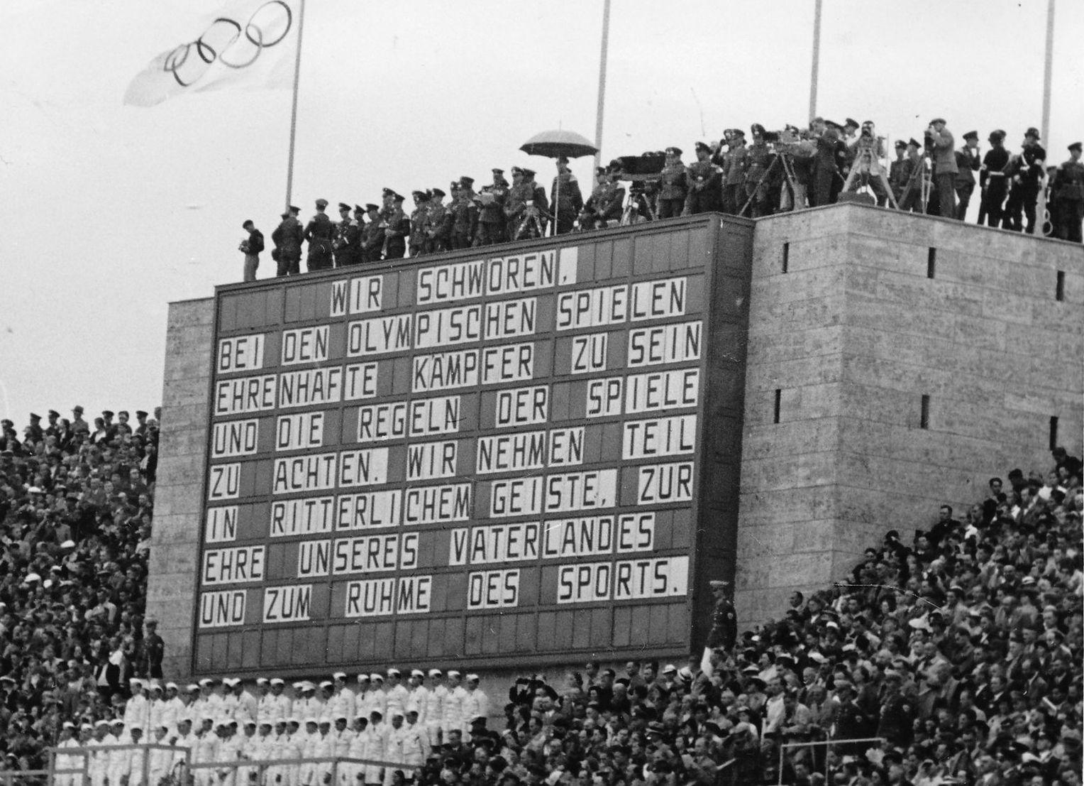 Olympische Spiele 1936 In Berlin Schnappschusse Hinter Den Kulissen Der Spiegel