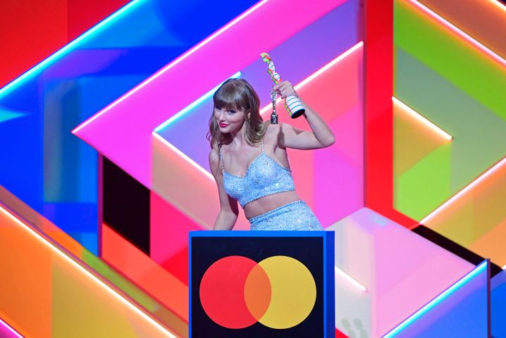 Gewinnerin des »Global Icon Awards«: Taylor Swift