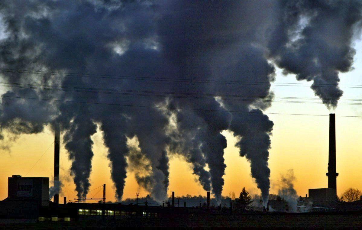 Deutsche Industrie/ Luftverschmutzung