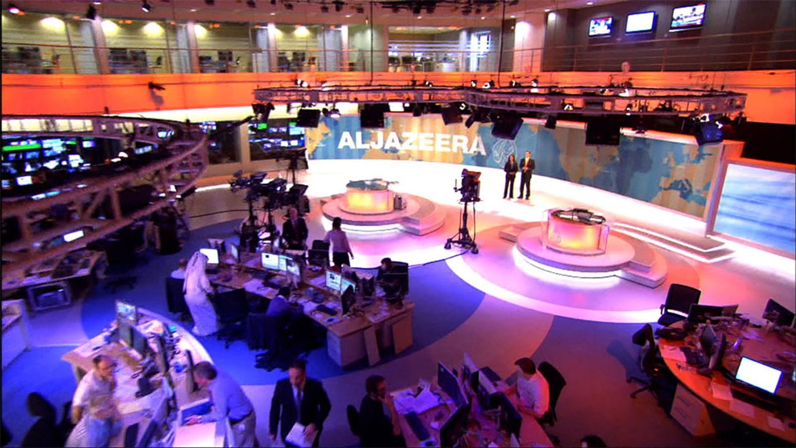 QATAR AL-JAZEERA / Doha / Al-Dschasira