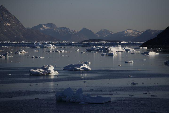 Eisberge im Nuup Kangerlua-Fjord in Grönland 2017: Was schlummert unter dem Eis?